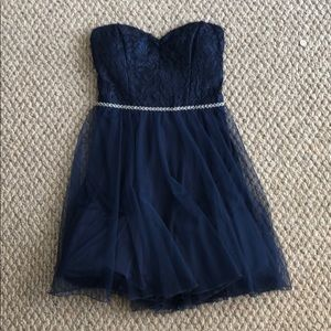NEW WITH TAGS Navy Blue Mini Dress